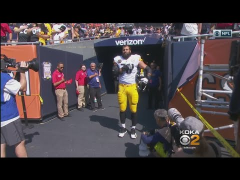 Steelers Skip National Anthem But Former Army Ranger And Current LT Villanueva Stands Near Tunnel