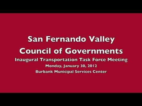 Transportation Taskforce San Fernando Valley COG 20120130