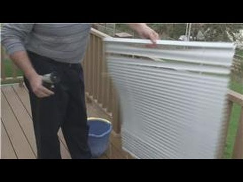 Window Blinds Maintenance : How to Remove & Clean Window Blinds ...
