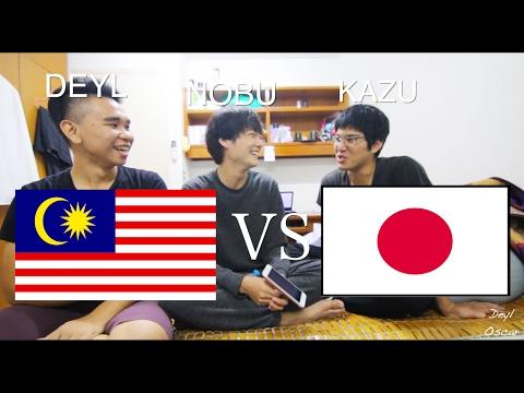 Malaysia Vs Japan - Language Challenge