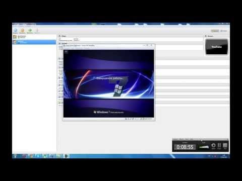 Как установить windows 7 на Virtualbox