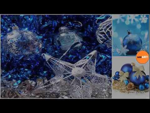 blue christmas decorations designer christmas decorations - Youtube Blue Christmas