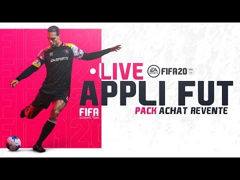 Live FIFA 20 Appli web: Petit pack opening et decouverte de l'appli!