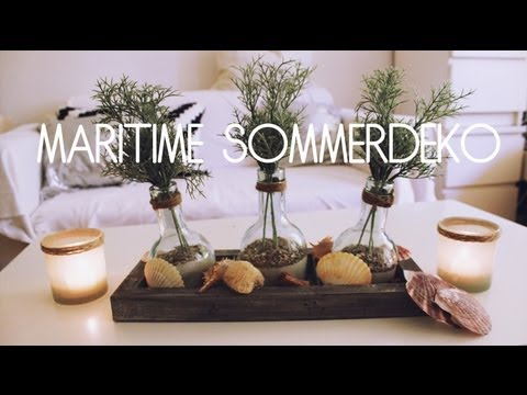 diy maritime sommerdeko haul youtube. Black Bedroom Furniture Sets. Home Design Ideas