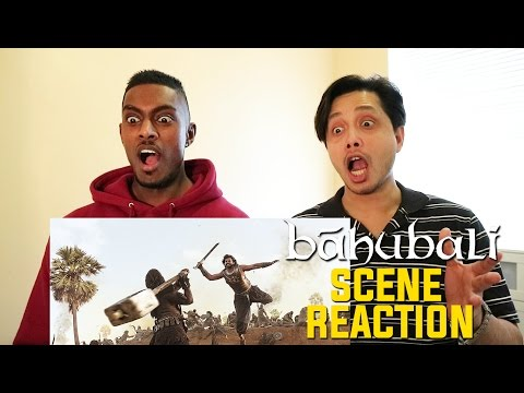 Baahubali The Beginning War  Scene Reaction  By Stageflix
