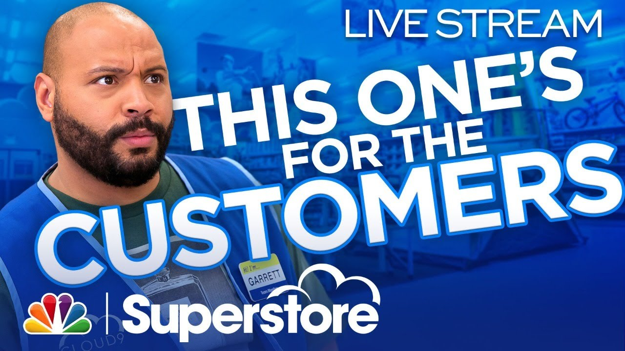 Download Hours of Aisles: Only the Customer Interstitials Livestream - Superstore