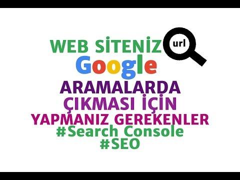 Web Sitenizi Google Aramalarda Çıkartmanın En Kolay ve Önemli Yolu