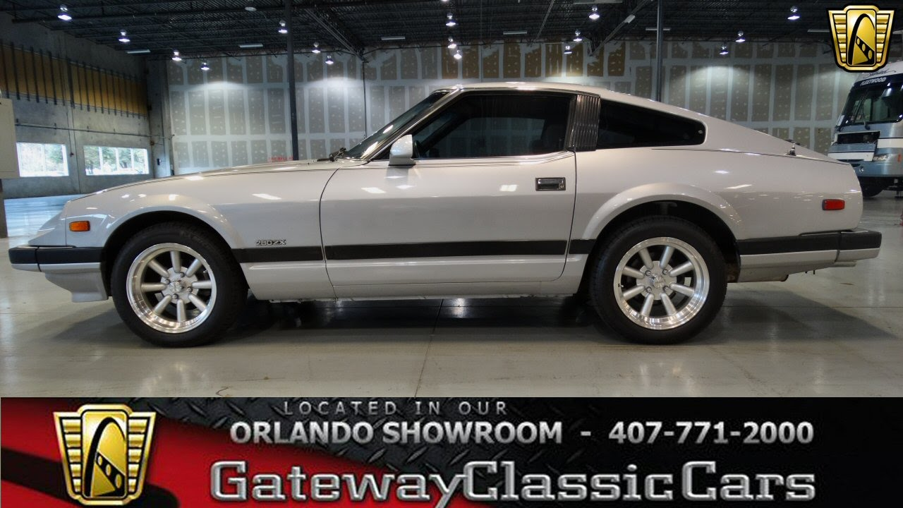 Bumper Cars For Sale >> 1982 Nissan 280ZX Stock #103 - Orlando Showroom - YouTube