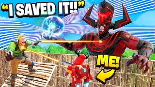 I SAVED The Galactus Live Event! (Fortnite)