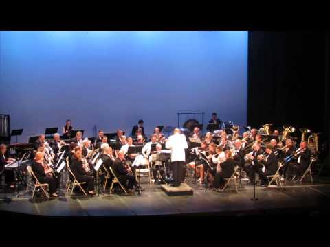 """Northwinds Concert Band plays the overture to """"Maske in Blau"""""""