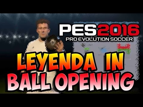 PES 2016 LEYENDA IN A BALL OPENING REACCION BRUTAL