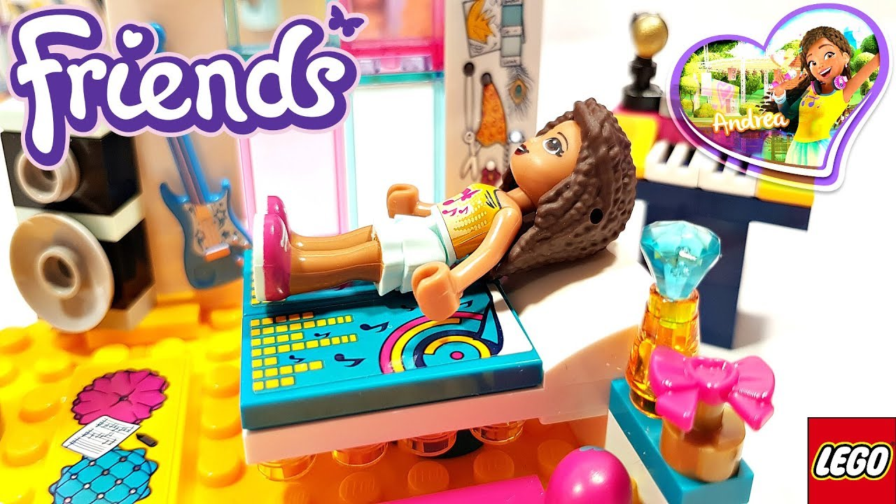Lego Friends 2018 Andreas Bedroom Building Review 41341 Youtube