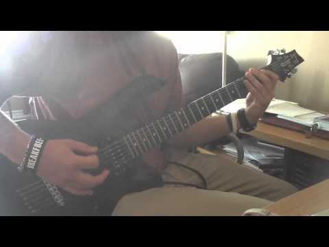 Veil of Maya - With passion and power (guitar cover)
