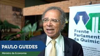 MINISTRO DA ECONOMIA PAULO GUEDES COM FPQUÍMICA