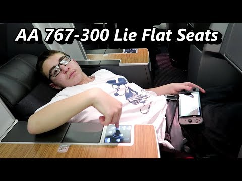 American Airlines First Class (Lie Flat Seats) PHL To LAS