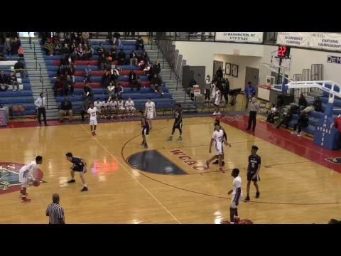 DeMatha Catholic  JV Basketball vs. Good Counsel High School