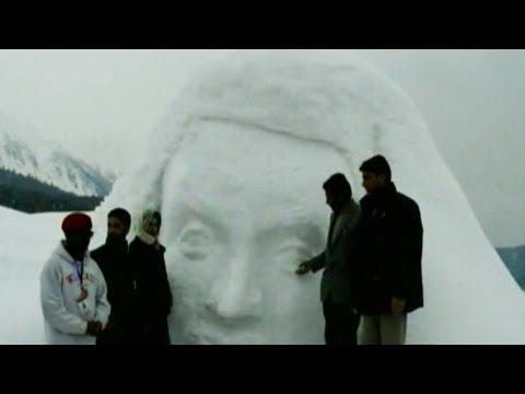 Snow fiesta 2014: Asia's 1st Snow Sculpture Camp in Gulmarg