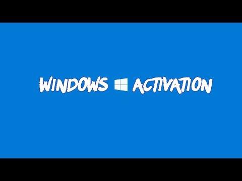 Активация WINDOWS 10 за 1 минуту.