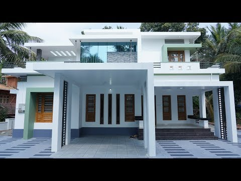Brand new low budget double storey house with superb interior   Video tour