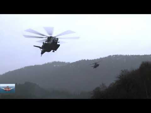 U.S. Marines Insert Norwegian Reconnaissance Troops