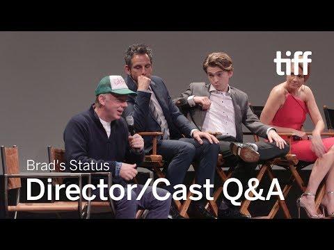 BRAD's STATUS Q&A | TIFF 2017