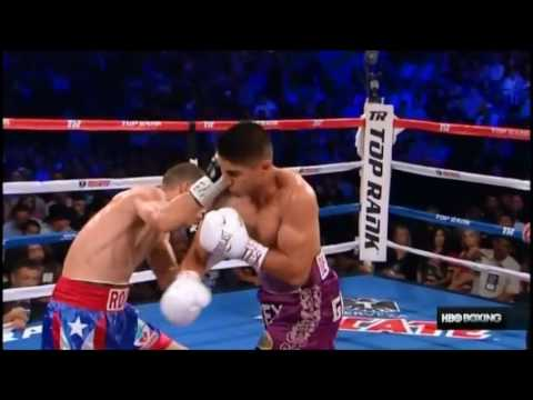 Mikey Garcia vs Roman Martinez Knockouts and Knock downs