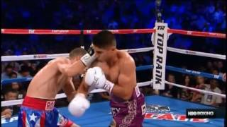 Mikey Garcia vs Roman Martinez Knockouts and Knock downs