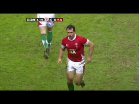 Gareth Cooper poor match vs England 2010