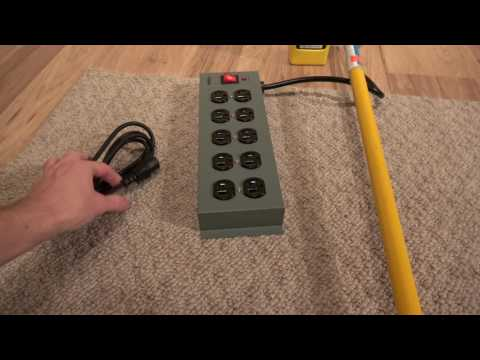 Shielded Power Strip By ElectraHealth.com - Get Rid Of Electric Fields