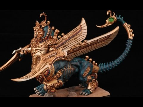 How To Paint Necrosphinx? | Tomb Kings | Warhammer Fantasy Battle | Buypainted