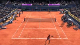 Rafael Nadal vs Novak Djokovic [Virtua Tennis 4 - PC Gameplay - Türkçe]