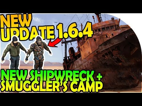 NEW UPDATE 1.6.4 - NEW WRECKED SHIP EVENT + SMUGGLER CAMP -