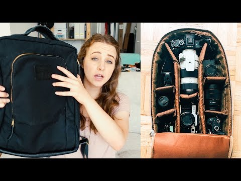 BEST CAMERA BAGS 2017 - revealing my ENTIRE bag collection