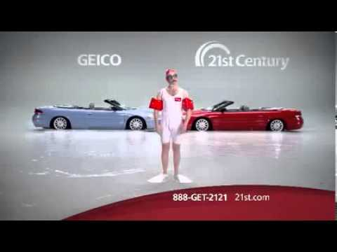 Flash Flood Commercial  21st Century Auto Insurance Same Great Coverage For Less