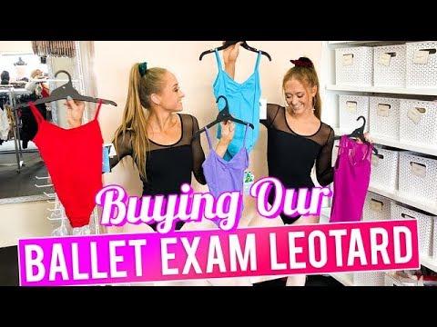 Buying Our Ballet Exam Leotard | The Rybka Twins