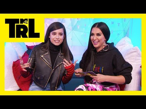 Sofia Carson Talks Favorite Music, Her Rise to Fame & More! | First/Last | TRL Weekdays at 4pm