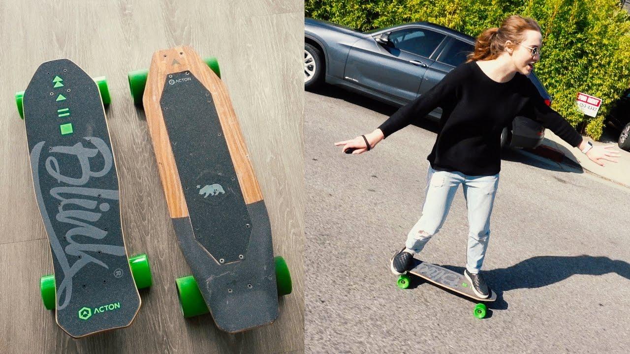Acton Electric Skateboard Comparison  Blink LITE VS Blink S  unboxing \u0026 review  YouTube