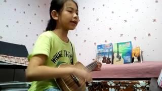 Proud of you - Ukulele cover by Babybear 鍾安晴