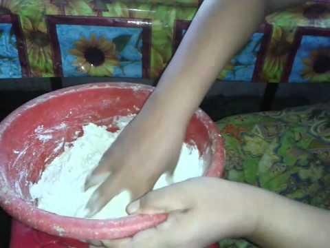 Cara Buat Kuih Kertas Part1