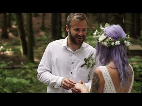 Underpine Woods, Cornwall - a dreamy boho styled shoot.