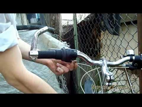 ремонт велосипеда замена переднего переключателя
