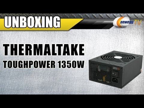 Unboxing: Thermaltake Toughpower TP-1350M 1350W 80 PLUS SILVER Certified  Power Supply