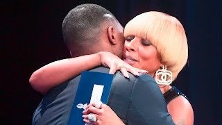 Mary J. Blige Presents Outstanding Film Wide Release to Moonlight (Full Speech)
