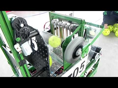 Desert Eagles 5705 Robo Reveal 2017 FRC Steamworks