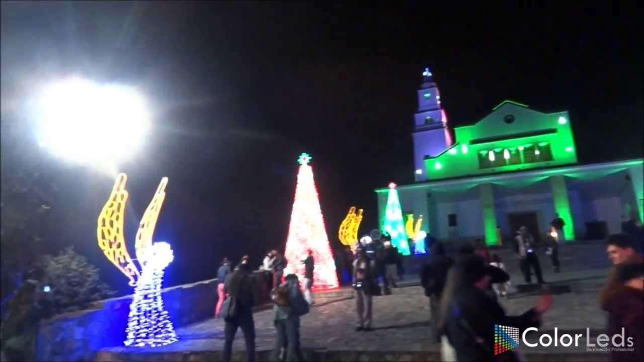 Iluminacion Navidea Monserrate 2019