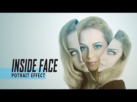 Photoshop Portrait Photo Effect Tutorial: Inside Face