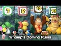 Super Mario Party Whomp's Domino Ruins 20 Turns #3