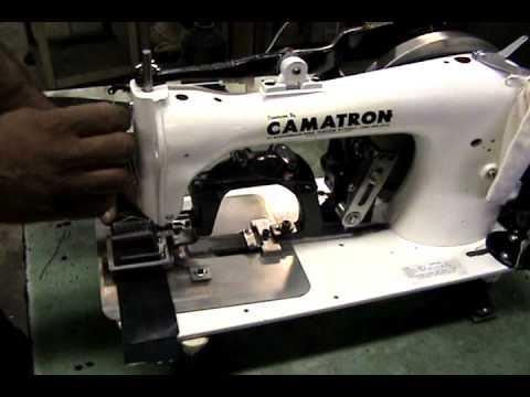 Bartack Machine YouTube Delectable Camatron Sewing Machine Inc