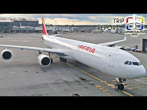 TRIP REPORT | Iberia | Airbus A340-600 | London Heathrow