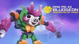 Angry Birds TransFormers: Bludgeon Brand New Update Power - Gameplay